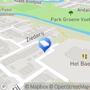 Kaart Bolleboos BSO Alkmaar, Nederland