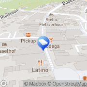 Kaart Koogerhuys 't De Koog, Nederland