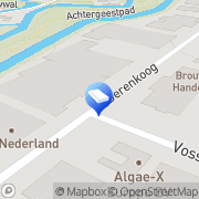 Kaart Signexpress Alkmaar, Nederland