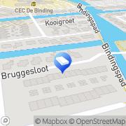 Kaart Meester Hovenier Broek op Langedijk, Nederland