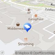 Kaart VLIEG Makelaars og Heerhugowaard, Nederland