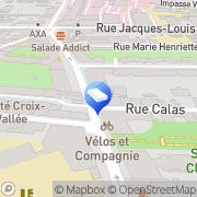 Carte de CFM Conseil Lyon, France