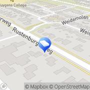 Kaart Sprenkeling Aannemersbedrijf G N M Heerhugowaard, Nederland