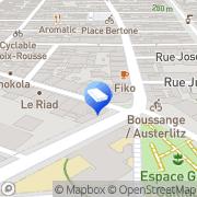 Carte de Abatier Plomberie Lyon, France