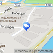 Kaart Ent & Zn BV Aannemersbedrijf v/h D De Rijp, Nederland
