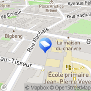 Carte de Rompav beton imprime Lyon, France