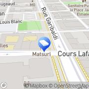 Carte de LIP Industrie & Bâtiment Lyon Mécanique & Carrosserie Lyon, France