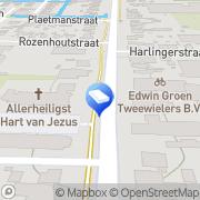 Kaart JMR Projecten Heerhugowaard, Nederland