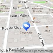 Carte de Actor Lux Lyon, France