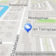 Kaart Orenda Montagebedrijf Heerhugowaard, Nederland