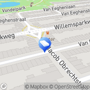 Kaart tav-microcement Nederland Amsterdam, Nederland