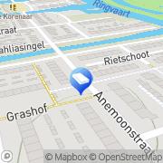 Kaart D van Lienen Installatietechniek Oostzaan, Nederland