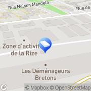 Carte de ABC Automation Vaulx-en-Velin, France