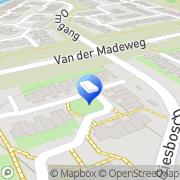 Kaart Amsterdam Withaar Woning Bemiddeling Diemen, Nederland