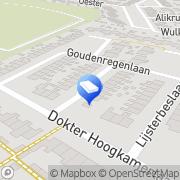Kaart Klusbedrijf Pas Middenmeer, Nederland