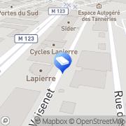 Carte de E.M.A Ambiances Dijon, France