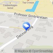 Kaart Knulst BV Tilburg, Nederland