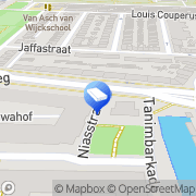 Kaart Eijk & De Mooij Juridisch Advieskantoor Vreemdelingenzaken Utrecht, Nederland