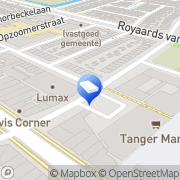Kaart TAT Zetwerk Utrecht, Nederland