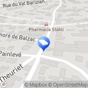 Carte de Iss Abilis France Chaumont, France