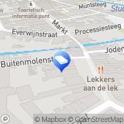 Kaart Graaf Lakerveld Vormgeving Culemborg, Nederland