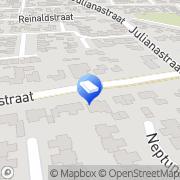 Kaart Santvoort Den Drijver- Pigmans Notariskantoor Van Kerkdriel, Nederland