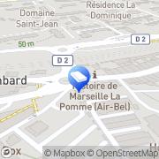 Carte de AGEC Administration Gestion Etudes Commerciales Marseille, France