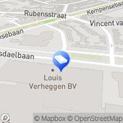 Kaart Safe Storage Eindhoven Zaandam Hengelo Arnhem Almelo Alkmaar Eindhoven, Nederland
