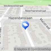 Kaart Rolluiken en Zonweringen DCA Maastricht, Nederland
