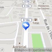 Carte de LCL - Le Crédit Lyonnais Seyssinet-Pariset, France