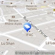 Carte de Audition Conseil Grenoble, France