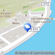 Carte de Cibi Grenoble, France