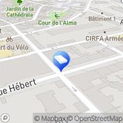 Carte de Astrolab Laboratoire du Futur Grenoble, France