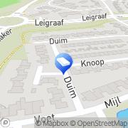 Kaart Ronald van Dijk Webdesign Beuningen, Nederland