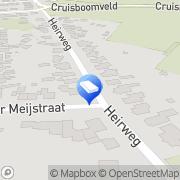 Kaart Welzijnszorg Zuidlimburg Geulle, Nederland