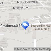 Map Frissen-Zohren Hoveniersbedrijf Kotem, Belgium