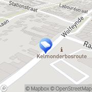 Map Randstad Kotem, Belgium