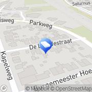 Kaart Bornweb Webdesign en PC Support Born, Nederland
