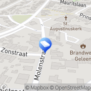 Kaart Correct Glashandel Geleen, Nederland