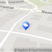 Kaart Den Hollandsche Gedenktekens Elst, Nederland