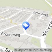 Kaart Heidendal G Gulpen, Nederland