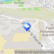 Carte de Foyer Personnes Agées Toul, France