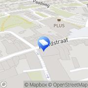 Kaart Personal Logistic BV Hoensbroek, Nederland