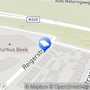 Karte Kinderopvang Beek-Ubbergen Wyler, Deutschland