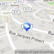 Carte de Antennes Andre Pepiot Besançon, France