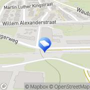 Kaart Parkstad Hoveniers Eygelshoven, Nederland
