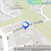 Karte Qosmotec Software Solutions GmbH Aachen, Deutschland