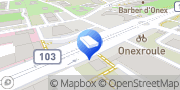 Carte de Chapuis Consulting Concept Onex, Suisse