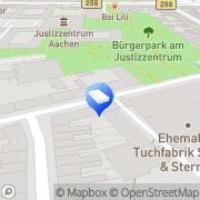 Karte Gera -Gebäudereinigung-Clean Management Aachen, Deutschland