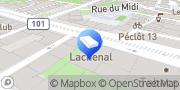Carte de Lachenal SA Genève, Suisse